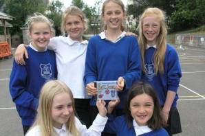 Charmouth Primary School pupils record special CD